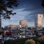 Havenkade een nieuw stuk skyline van Nijmegen