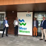 Overeenkomst MeerWonen en Heembouw voor realisatie 60 duurzame woningen
