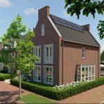 Wethouder Van Doesburg geeft startsein bouw 49 duurzame woningen in De Eilanden in Gorinchem