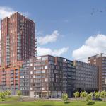 Feestelijke start bouw Gare du Nord, gebiedsontwikkeling Centrumzone Amsterdam Noord