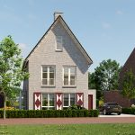 Startsein bouw 33 energiezuinige en gasloze woningen De Eilanden in Hoog Dalem