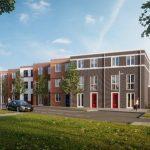 AM geeft startsein bouw 28 duurzame woningen Loofmeesters in Maassluis