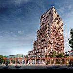 Nieuw woonicoon HIGHnote met 157 huurappartementen versterkt binnenstad Almere