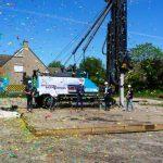 Officiële paal start bouw 19 eengezinswoningen Park Waterrijk fase 4
