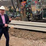 ABB Bouwgroep start met de bouw van woningen in Ridderkerk