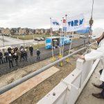 De bouw van Bernissepark te Zuidland feestelijk van start