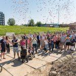 Feestelijke start bouw 14 woningen Zwijndrecht, Zomerdijk fase 2