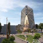 Blauwhoed wint tender Kop van de Singel in Schiedam