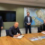 Gemeente Nissewaard en Synchroon tekenen intentieovereenkomst voor gebiedsontwikkeling rondom metro-busstation Spijkenisse Centrum