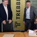 Trebbe en gemeente Dordrecht tekenen overeenkomst 51 woningen Patersweg Dordrecht