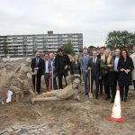 Feestelijke start bouw vernieuwing Centrum Schalkwijk in Haarlem