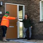Oplevering 53 duurzame woningen Kop van Waal in Tiel