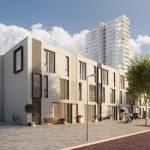Startsein bouw 28 duurzame en gasvrije woningen in deelplan Kopenhagen van Newport Nesselande, Rotterdam