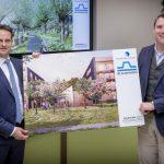 Blauwhoed winnend plan voor centrumgebied Hendrik-Ido-Ambacht