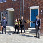 Feestelijke oplevering eerste 34 woningen in binnenstedelijk Schoterkwartier in Haarlem