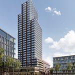 Eerste woontoren Sluisbuurt in Amsterdam: 289 energiezuinige appartementen