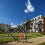 BAM Wonen en Dudok starten bouw 65 sociale huurappartementen in Anna's Hoeve in Hilversum