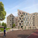 AM geeft startsein bouw Hendric met 124 appartementen in binnenstedelijke gebiedsontwikkeling Drie Hoefijzers, Breda