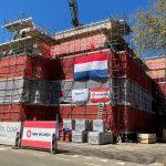 Hoogste punt bereikt bij The Ambassador in Den Haag