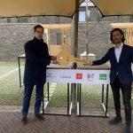 Eerste woningen opgeleverd in duurzame gebiedsontwikkeling Landgoed Wickevoort te Cruquius, Haarlemmermeer