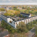 BAM Wonen viert samen met bewoners en AM realisatie dertig woningen Markus Keteer in Maastricht