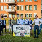 Samen versnellen in De Binckhorst: Zeven gebiedsontwikkelaars tekenen samenwerkingsovereenkomst