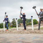 Start bouw nieuwe woonwijk De Akkerranden in Oudenhoorn